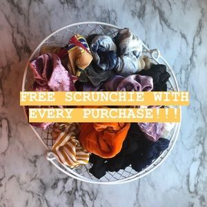 Accessories - COPY - COPY - FREE SCRUNCHIE WITH EVERY PURCHASE …